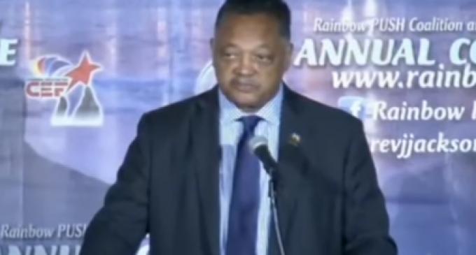 Rev. Jackson: 'We Won the Election. It was Stolen'
