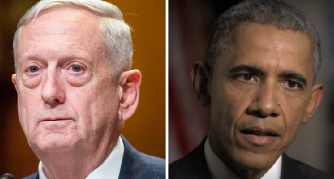 Defense Sec. Mattis Places Hold on Obama Recruitment Plan