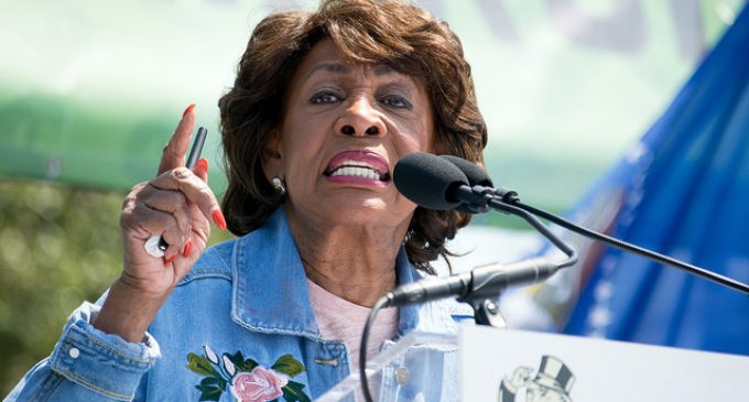 Maxine Waters Gives President Trump Till December