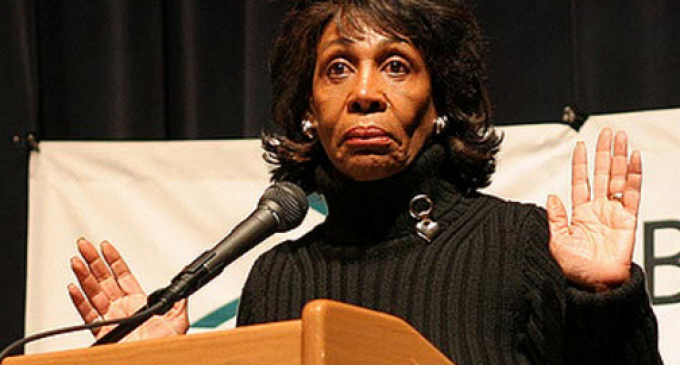 Waters' Campaign Fundraising Weak, But Provides Major Scam for Her Daughter