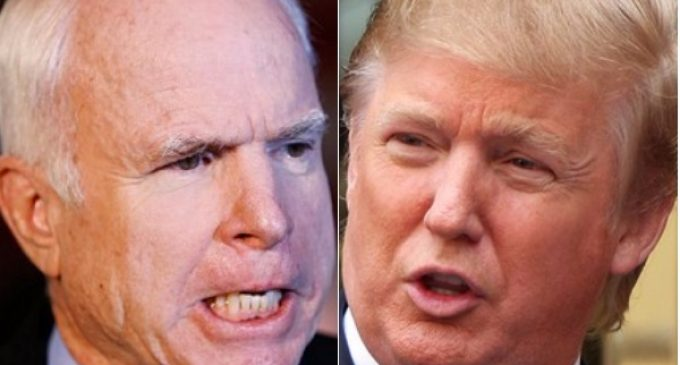 McCain Slams Trump From Hospital Bed