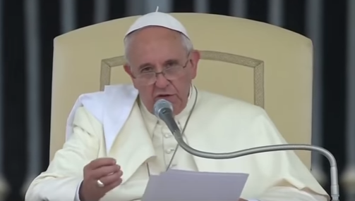 pope on personal relationship with jesus
