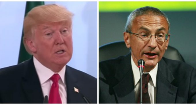 Trump: 'Everyone' at G20 Talking About Podesta not Giving DNC Server to Authorities