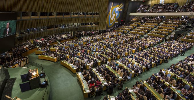 united nations assembly new york