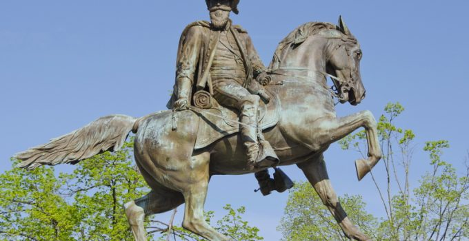 JEB Stuart, general and hero of the Confederate Army