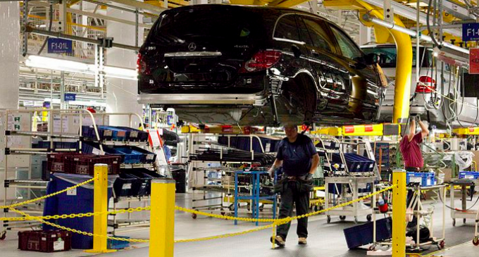 Mercedes Makes Big Announcement for American Auto Plant Workers