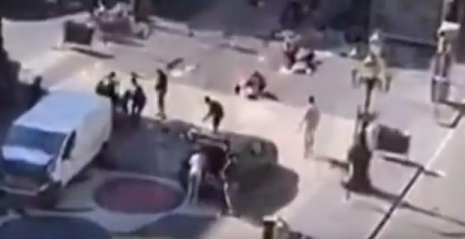 Deadly Terror Attacks Barcelona, 13 Dead, 32 Injured, Man Hunt Ongoing