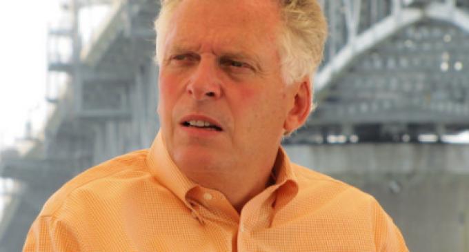 Governor McAuliffe Empowers Leftist Vandalism of Confederate Monuments