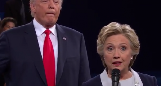 Hillary Clinton: Should I have Called Donald Trump a Creep During the Debate?