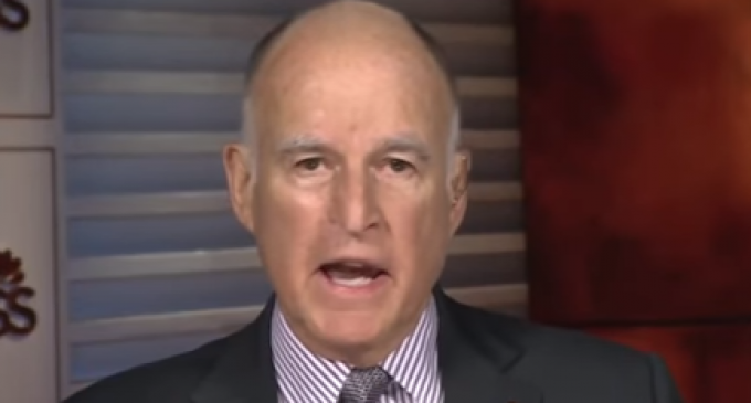 Governor Brown Lectures America to be More Like China