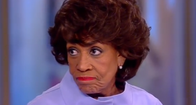 Waters: When We Finish With Trump, We Have To Go And Get Putin, er, Pence