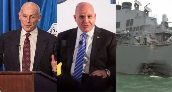 Kelly and McMaster Omit Vital Information About Collision of Ships