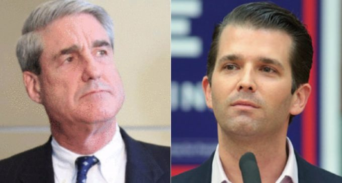 Report: Mueller Goes After Donald Jr. with Grand Jury