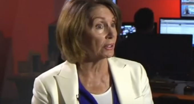 Pelosi: Constitution Doesn't Give People the Right to 'Yell Wolf in Crowded Theater'