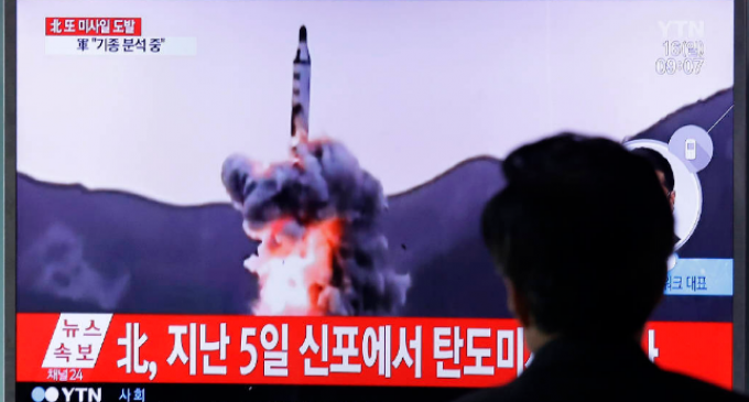 """North Korea Fires """"Unidentified Projectile"""" Over Northern Japan"""