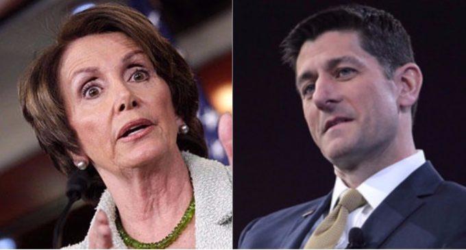 Pelosi Slams Antifa, GOP Leaders Suck Their Thumbs