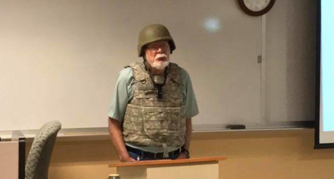 Moonbat Professor Loses It Over New Texas Law