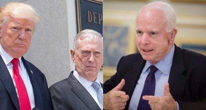 Trump Considers Withdrawal from Afghanistan, McCain Demands Broadening War