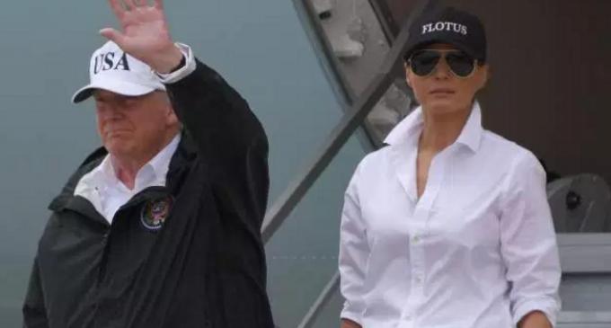 Furious Liberal Backlash to President Trump Donating 1 Million Dollars to Hurricane Harvey Victims