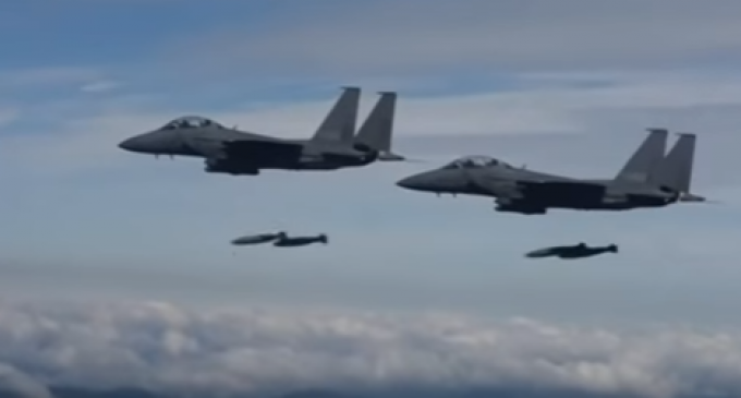 US, South Korea, Stage Impressive Show of Force Near North Korean Border