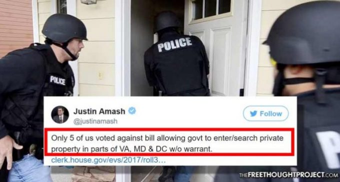 Congress Passes, POTUS Signs Law That Allows Warrantless Searches
