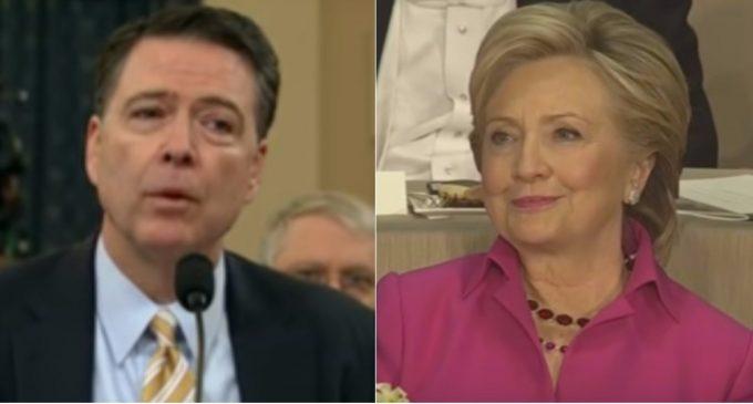 Senate Letter: Comey Exonerated Hillary Before FBI Investigated Her