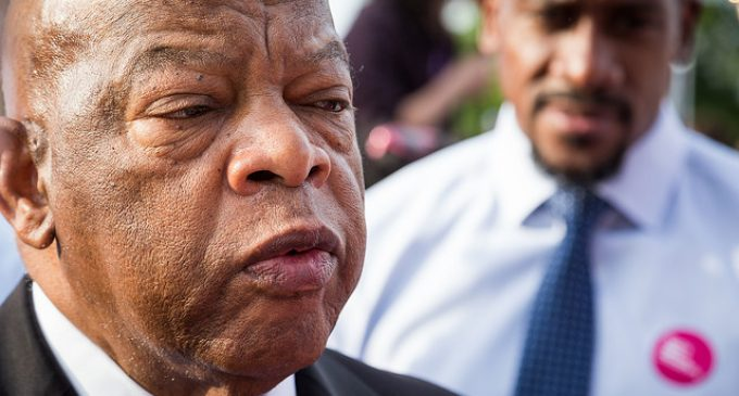 John Lewis: Trump 'Made It Very Comfortable for People to Put on Those Hoods, Put on Those Sheets'