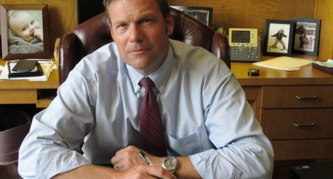 """Kobach: """"Voter Fraud Stole Election from Ayotte in New Hampshire"""""""