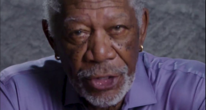 """Morgan Freeman: """"We Are At War With Russia"""""""