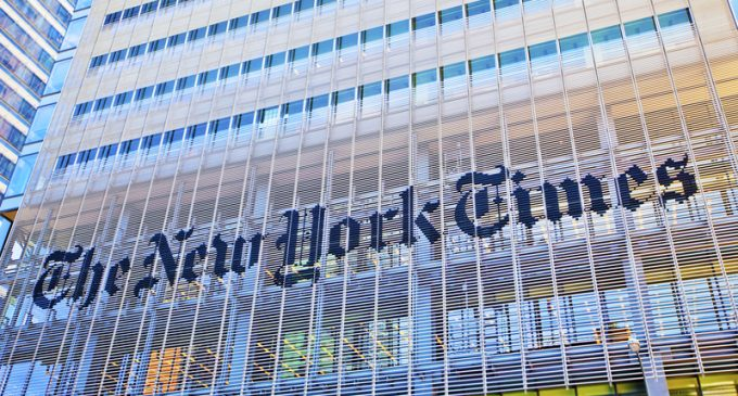 Conservative Publisher: NYT Pushed Us Off Their Bestseller List Despite Sales Numbers