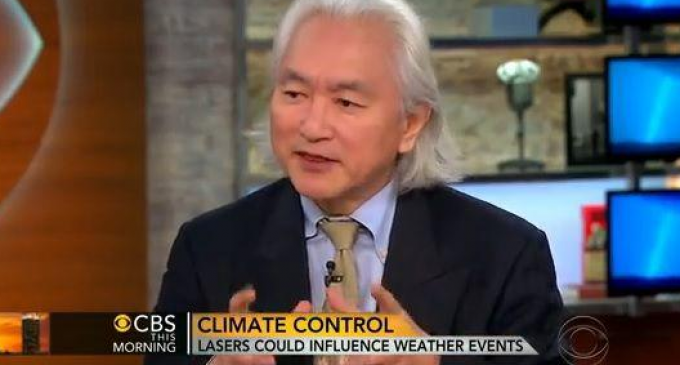 Famous Physicist Admits on CBS That Weather Modification is Real