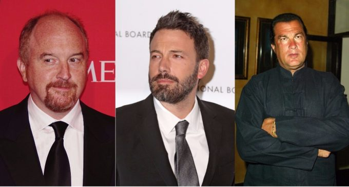 46 Hollywood Stars Now Accused of Sexual Harassment, Molestation or Rape