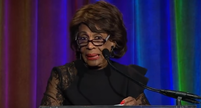 """Maxine Waters Threatens to """"Go and Take Out Trump Tonight"""""""