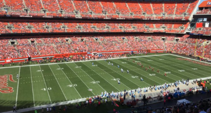 Photos: NFL Stadiums 7 Weeks After Trump Spoke Out About National Anthem