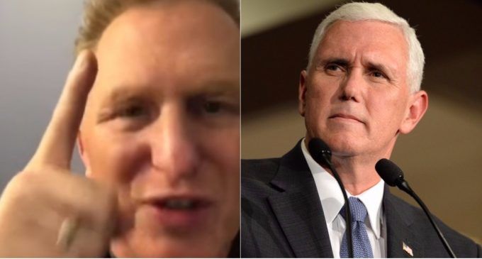 """Actor Rapaport  to Vice President Pence: """"You Selfish F*ck, You"""""""
