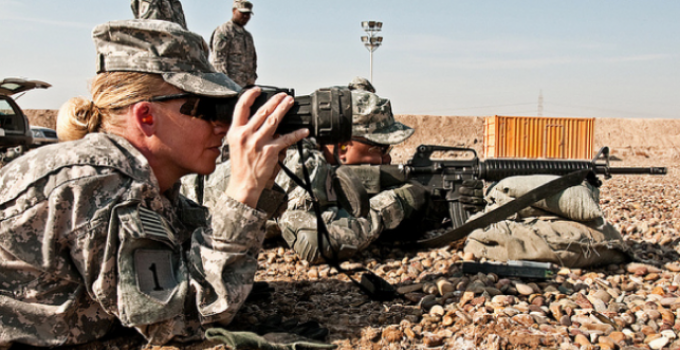 Pentagon Officials: Women Should Be Required to Sign Up for the Draft