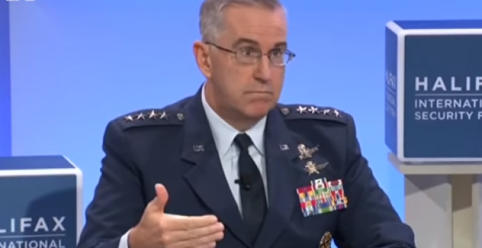 """General of US Strategic Command: """"Mr. President, That's Illegal"""""""