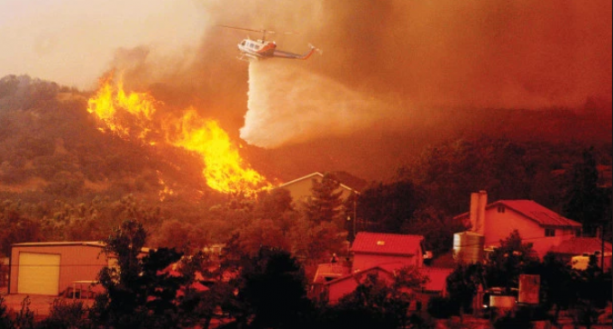 Highly Decorated Fire Captain: CA Fires Result of Directed Energy Weapons
