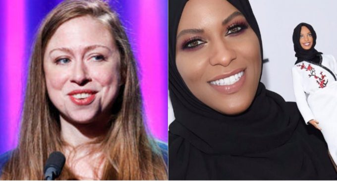 """Chelsea Clinton Scorned on Twitter for Promoting New """"Hijab Barbie"""" Doll"""