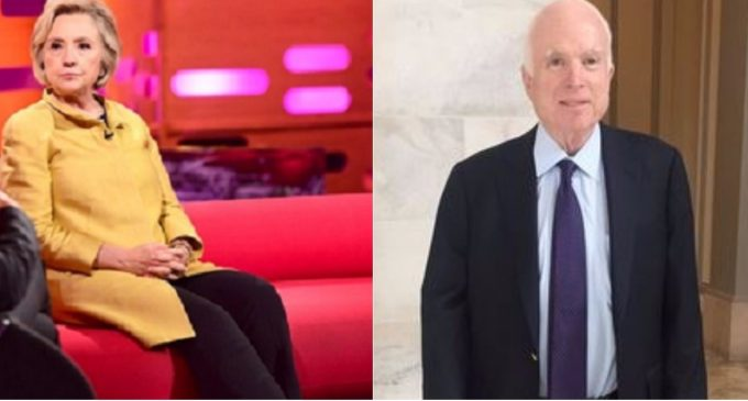 "Report: Hillary Clinton and John ""Songbird"" McCain Under Court Surveillance"