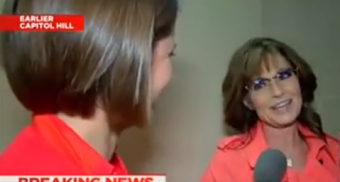 Palin: People Don't Sexually Harass Me Because They 'Know That I'm Probably Packing'