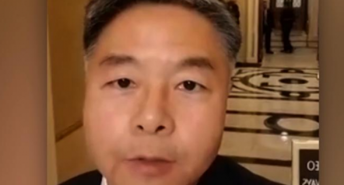 Rep. Ted Lieu Walks Out of Moment of Silence for Texas Shooting Victims