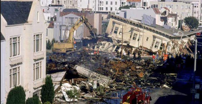 San Francisco Earthquake 1989