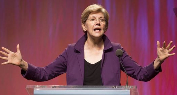 Elizabeth Warren Busted Creating a Giant Government Slush Fund