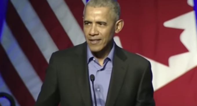 Obama Compares President Trump to Hitler During Chicago Speech