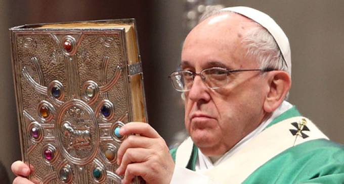 Pope Francis Wants to Change Wording of Lord's Prayer Because the Original Version Implies 'God Makes Mistakes'