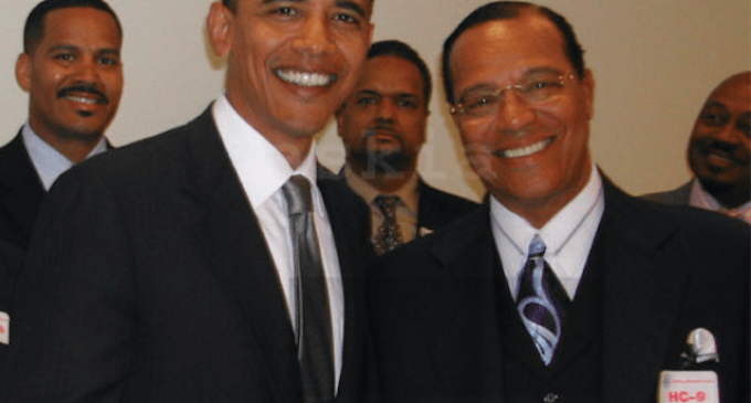 Suppressed Photo of Obama, Farrakhan Surfaces After 13-Year Cover-up