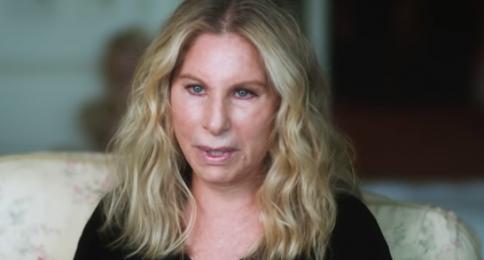 """Streisand Blames Trump for Shooting, He """"Brings Out the Violence in People"""""""