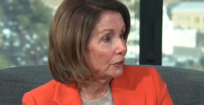 Pelosi: Instead of Building a Border Wall, Just 'Mow the Grass'