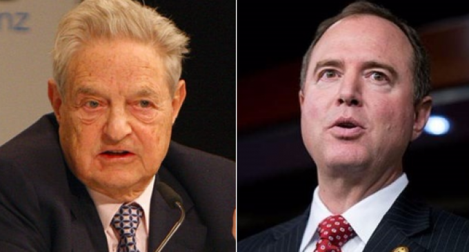 Rep. Schiff Caught Pocketing Soros Money
